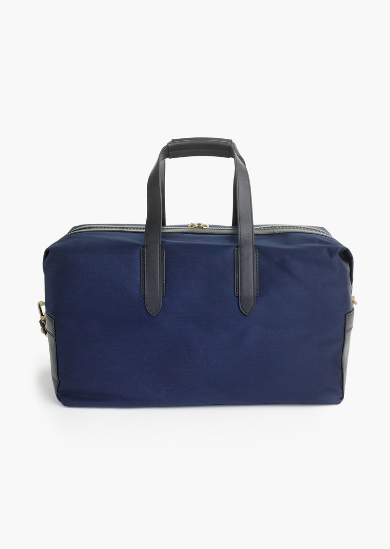J Crew Oar Stripe Nylon Weekender Bag Bags