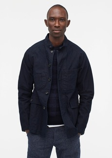 J.Crew OMNIGOD® military hooded jacket in indigo black