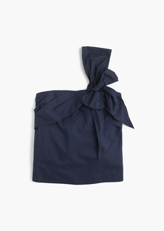 J.Crew One-shoulder bow top