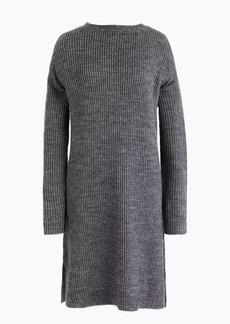 Open-back sweater-dress