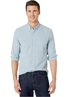 J.Crew Organic Stretch Washed Dobby Gingham Heather