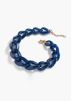 J.Crew Oval link necklace