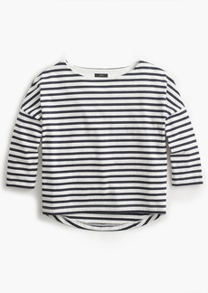 J.Crew Oversized striped T-shirt