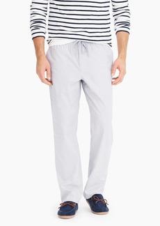 J.Crew Pajama pant in cotton poplin