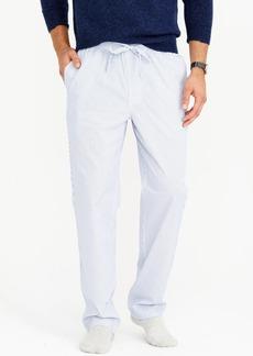 J.Crew Pajama pant in striped cotton poplin