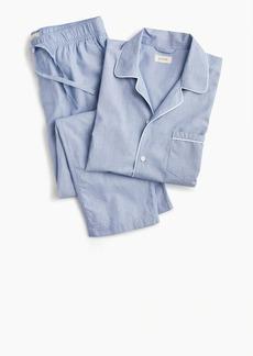 J.Crew Pajama set in cotton poplin