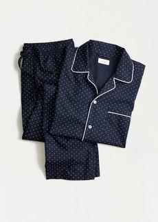 J.Crew Pajama set in windowpane cotton poplin