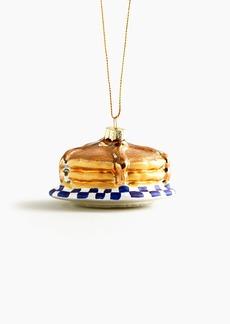 J.Crew Pancake short-stack ornament
