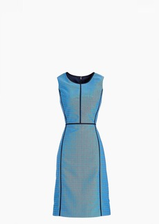 J.Crew Petite paneled sheath dress