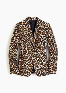 J.Crew Parke blazer in leopard-print linen TENCEL™