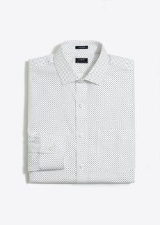 J.Crew Patterned flex wrinkle-free Voyager dress shirt