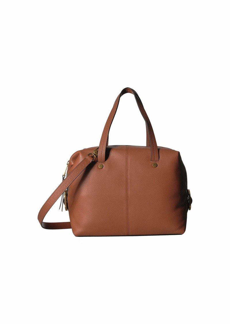 J.Crew Pebbled Leather Butterfly Satchel