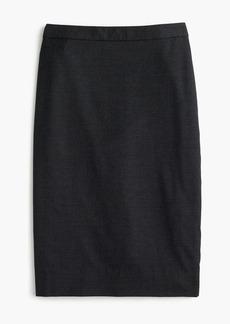 Pencil skirt in Italian Super 120s wool