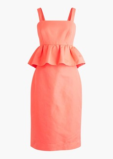 J.Crew Peplum dress in classic faille