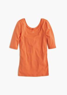 J.Crew Perfect-fit scoopneck T-shirt