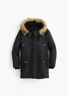 J.Crew Perfect winter parka with eco-friendly Primaloft®