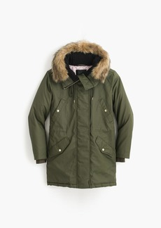 J.Crew Perfect winter parka with eco-friendly Primaloft®