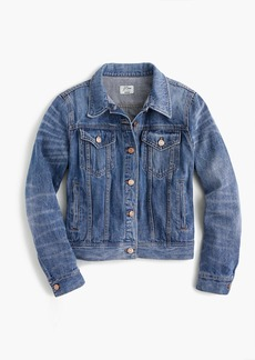 J.Crew Petite denim jacket in Newton wash