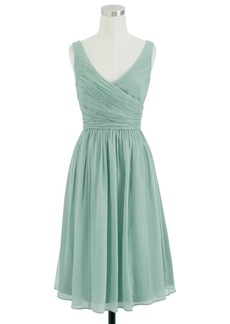J.Crew Heidi dress in silk chiffon