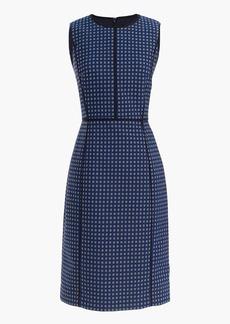 Petite paneled sheath dress