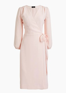 J.Crew Petite wrap dress in 365 crepe