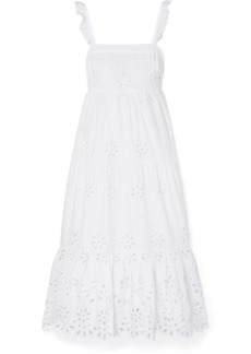J.Crew Peyton Broderie Anglaise Cotton-voile Maxi Dress