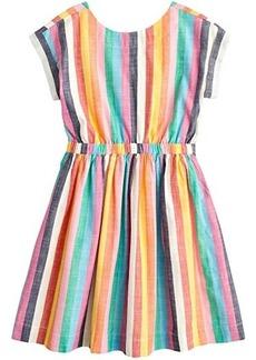 J.Crew Pia Stripe Dress (Toddler/Little Kids/Big Kids)