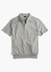J.Crew Pima cotton short-sleeve sweater-polo