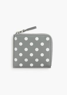 J.Crew PLAY Comme des Garçons® polka-dot printed coin case
