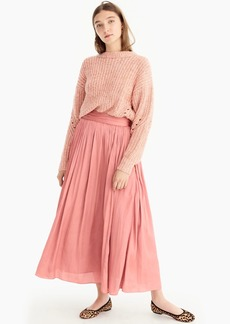 J.Crew Point Sur crinkled maxi skirt