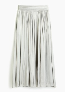 J.Crew Point Sur crinkled maxi skirt