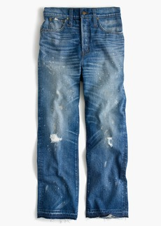 Point Sur cropped high-rise demi-boot jean