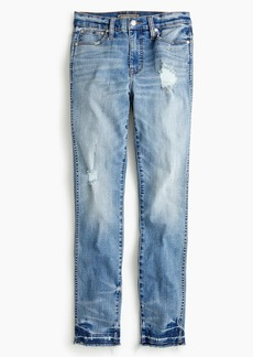J.Crew Point Sur hightower straight jean in pale ice wash