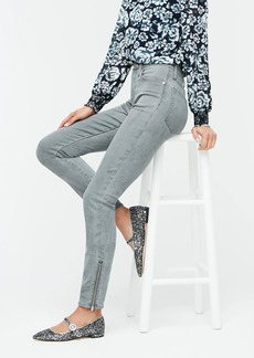 J.Crew Point Sur hightower straight jean with ankle zippers