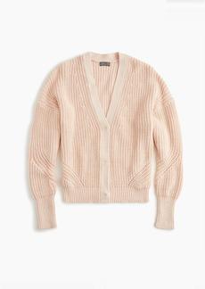J.Crew Point Sur ribbed cardigan sweater