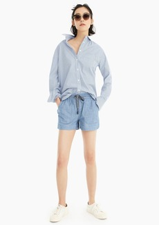 J.Crew Point Sur seaside short in chambray