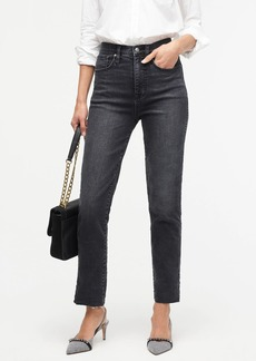 J.Crew Point Sur Shoreditch straight jean in charcoal wash