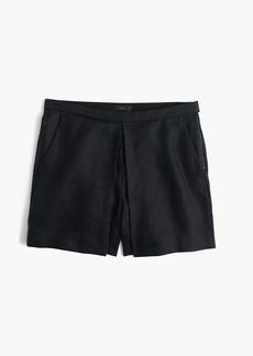 J.Crew Polished linen skirty short
