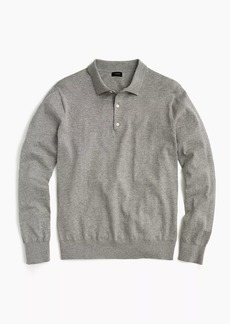J.Crew Polo sweater in Pima cotton