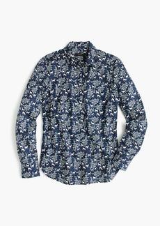 Popover shirt in deer print