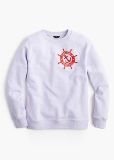 """J.Crew """"Portami a Positano"""" raglan sweatshirt"""