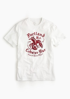 J.Crew Portland Lobster Bar graphic T-Shirt