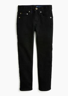 J.Crew Boys' black wash runaround jean in skinny fit