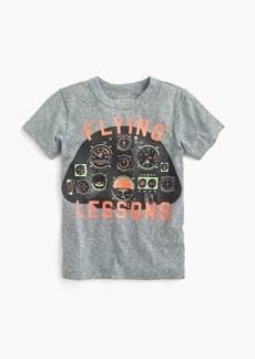 "J.Crew Boys' ""flying lessons"" T-shirt"