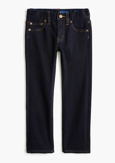 J.Crew Boys' rinse wash runaround  jean in slim  fit