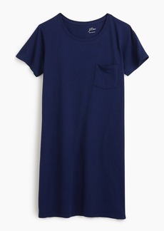 J.Crew Garment-dyed pocket T-shirt dress