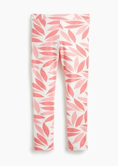 J.Crew Girls' everyday leggings in coral petal