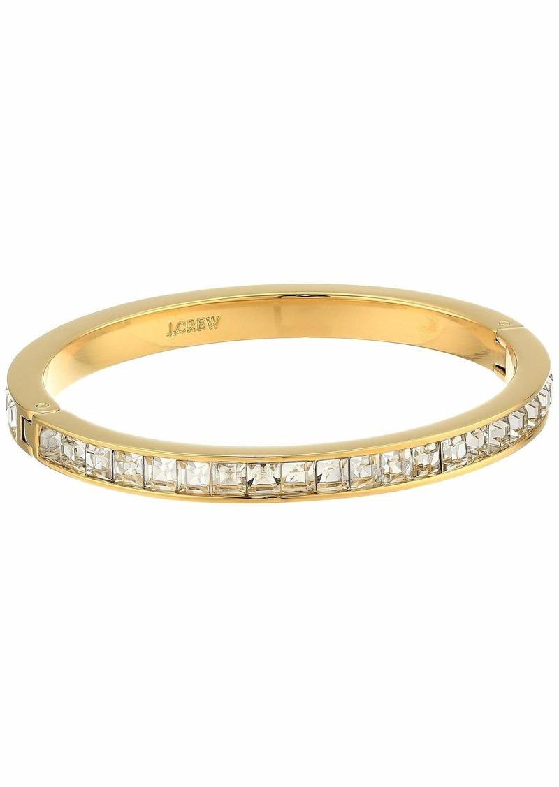 J.Crew Princess Square Hinge Bracelet