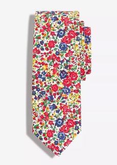 J.Crew Printed Cotton tie