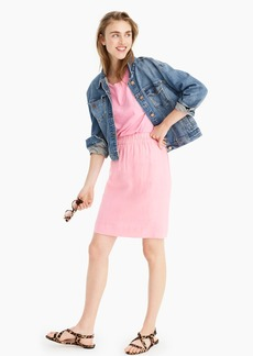 J.Crew Pull-on skirt in Beauchamps linen